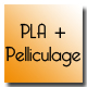 Etiquettes PLA biodegradable + pelliculage biodegradable