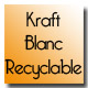 Kraft blanc recyclable
