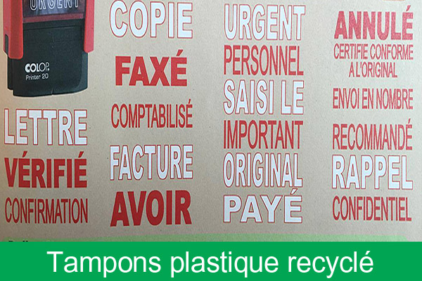 Tampons formules commerciales